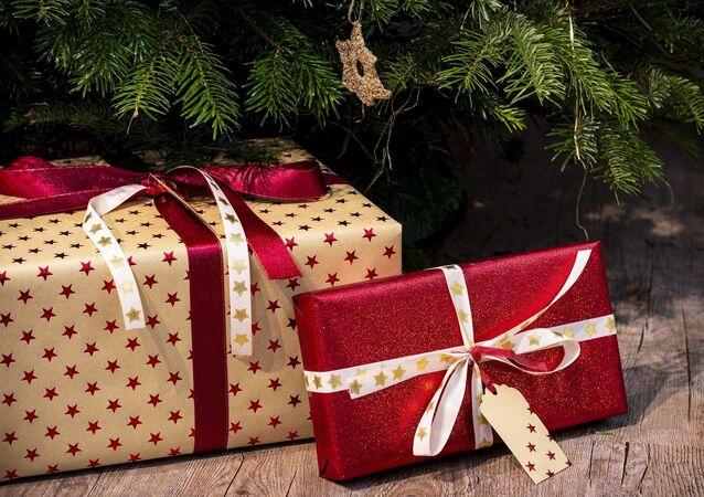 Cadeau De Noël (image d'illustration)