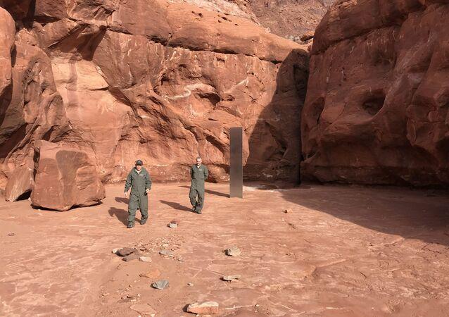 Monolithe de l'Utah, image d'illustration