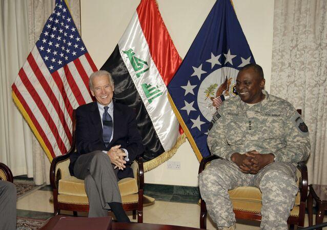 Joe Biden et Lloyd Austin