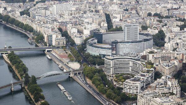 Vue sur le bâtiment de Radio France - Sputnik France
