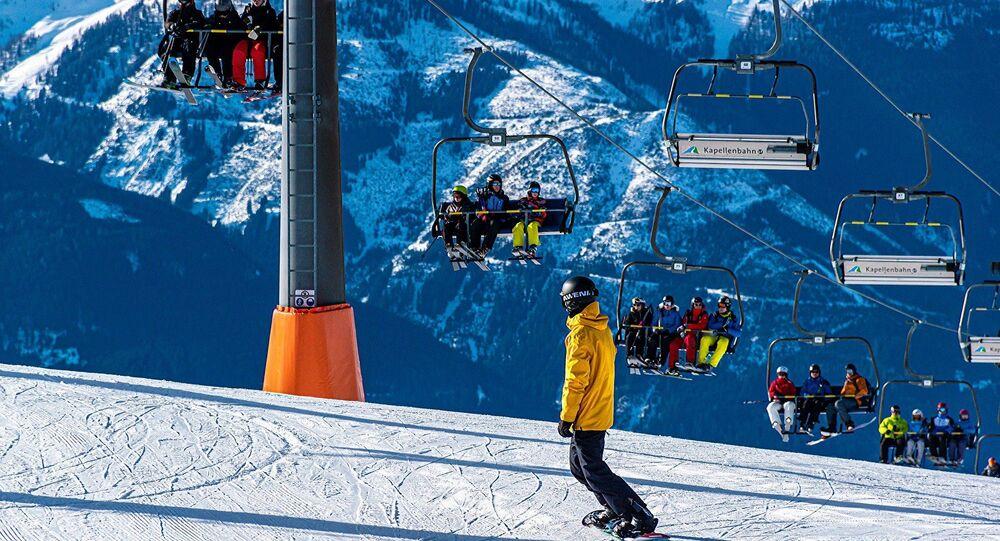 Des skieurs (image d'illustration)
