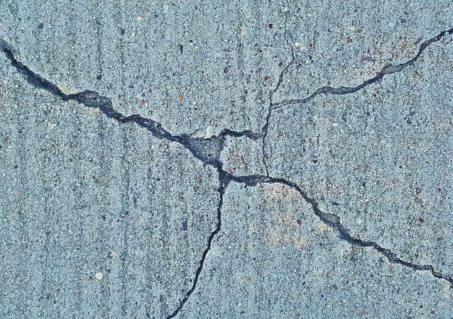 fissures, séisme