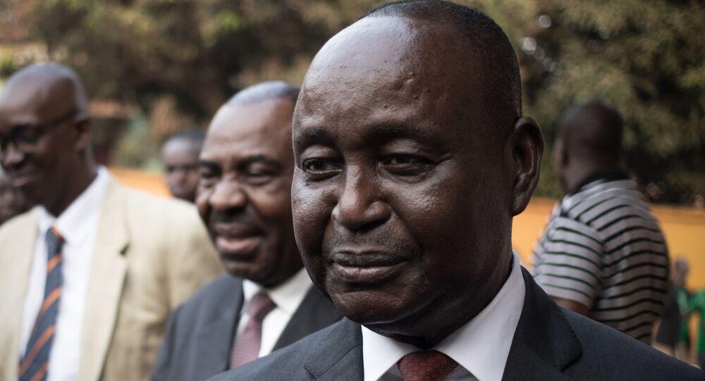 L'ancien Président centrafricain François Bozizé