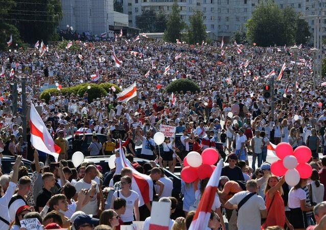 Manifestations à Minsk après la présidentielle