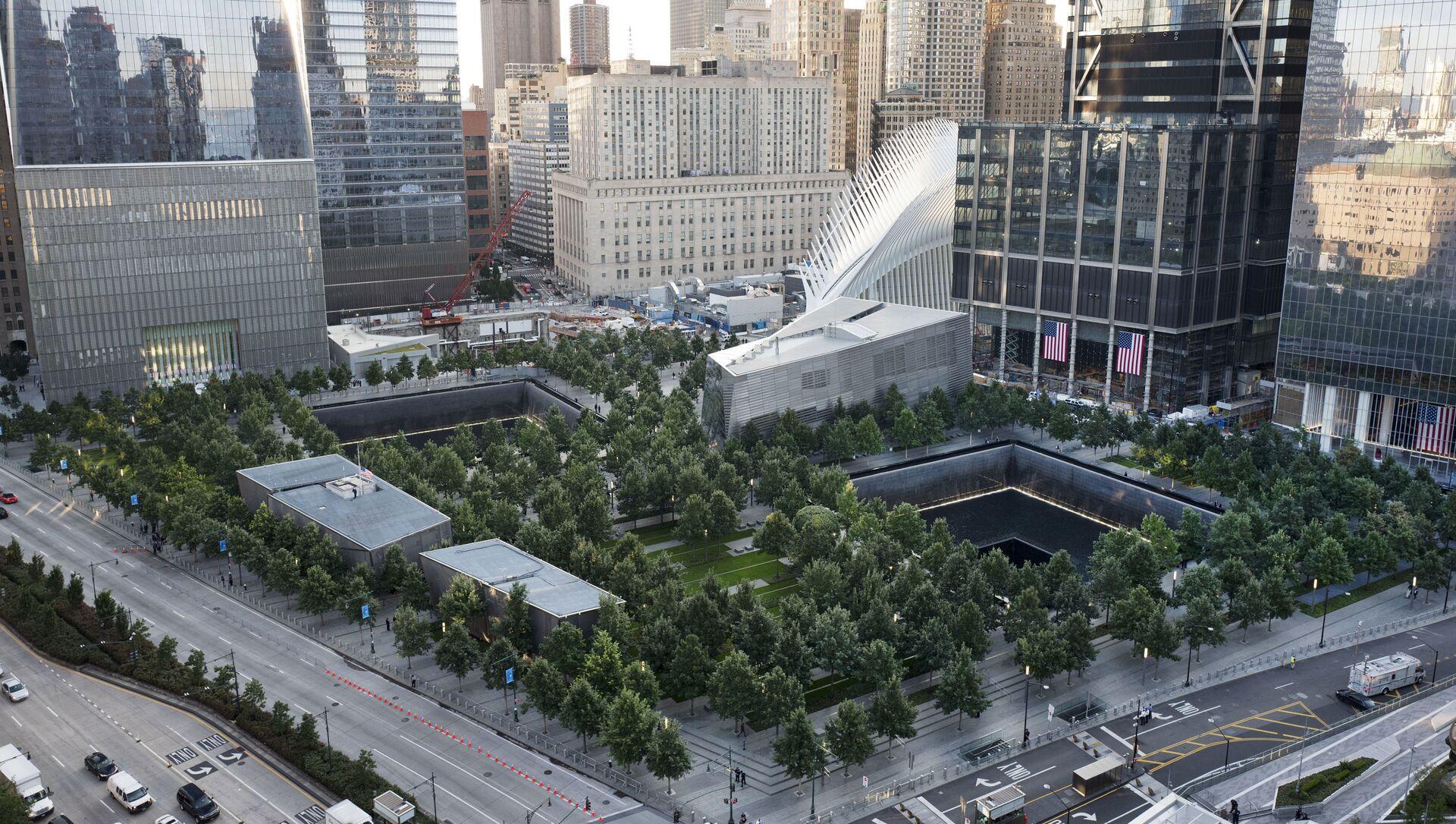 Le mémorial national en l'honneur des victimes du 11-Septembre à New York - Sputnik France, 1920, 10.09.2021