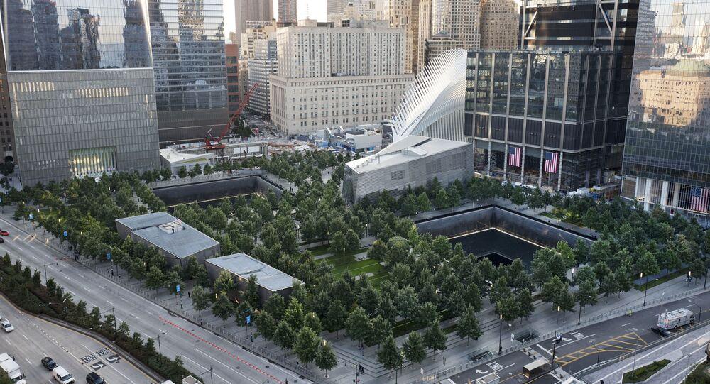 Le mémorial national en l'honneur des victimes du 11-Septembre à New York