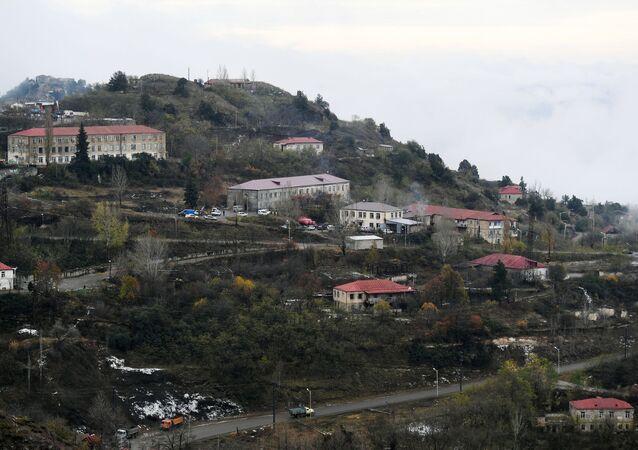 La ville de Berdzor (Latchin), dans le Haut-Karabakh