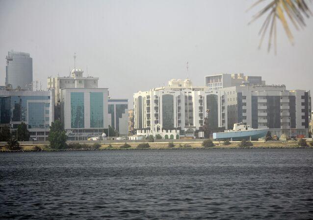 Vue sur la ville de Djeddah, en Arabie saoudite