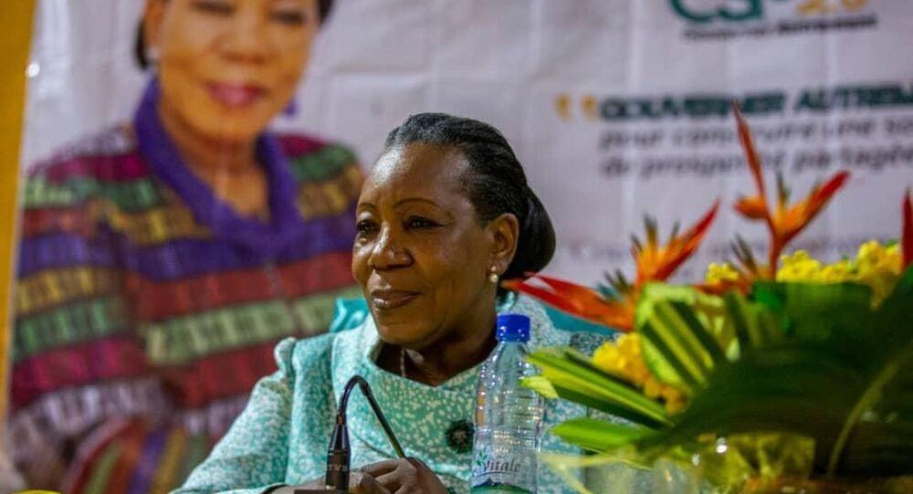 Catherine Samba-Panza, seule femme candidate à la présidentielle centrafricaine