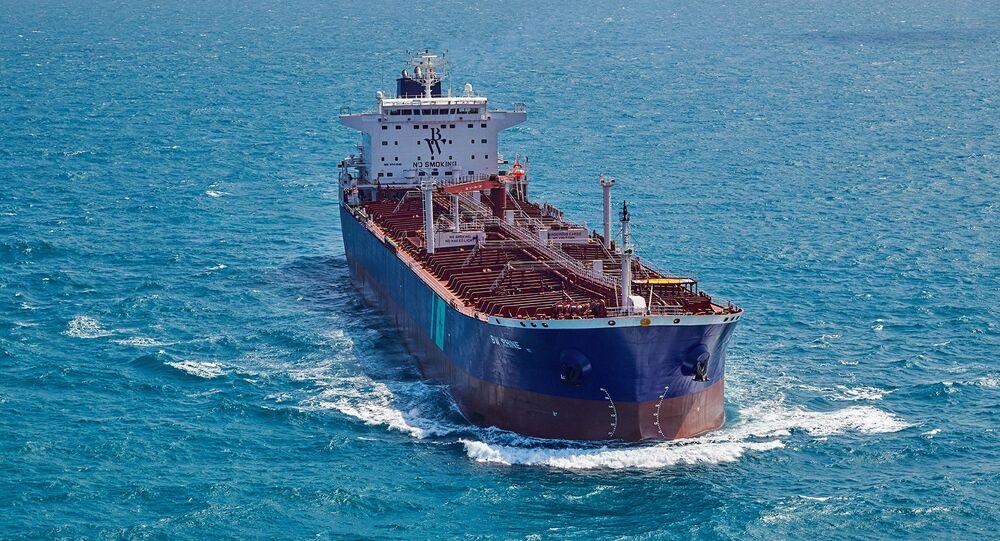 Une explosion à bord d'un pétrolier