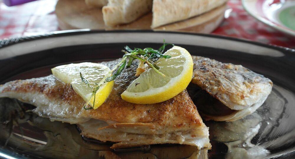 Un plat de poisson