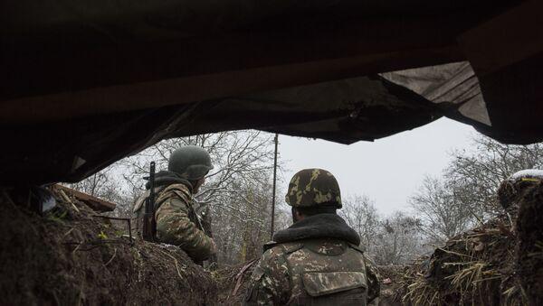 Militaires de l'armée de défense de la république autoproclamée du Haut-Karabakh - Sputnik France