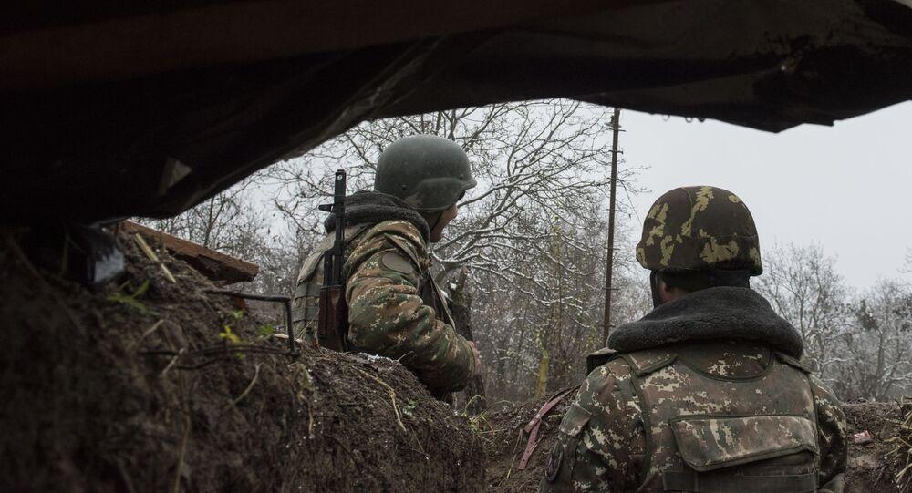Militaires de l'armée de défense de la république autoproclamée du Haut-Karabakh