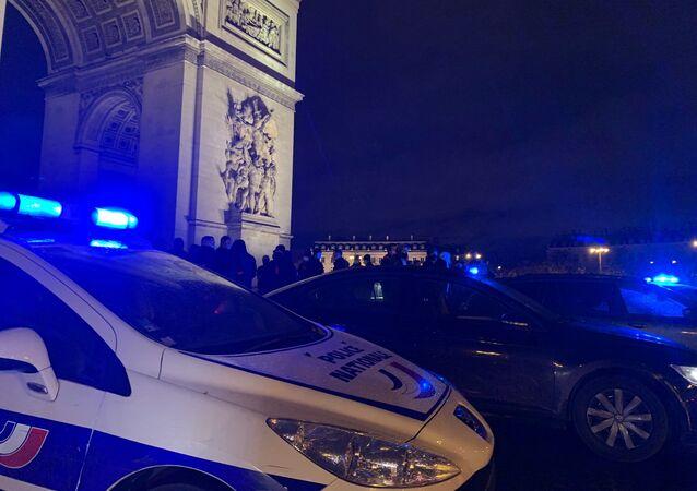 Police à Paris (archive photo)