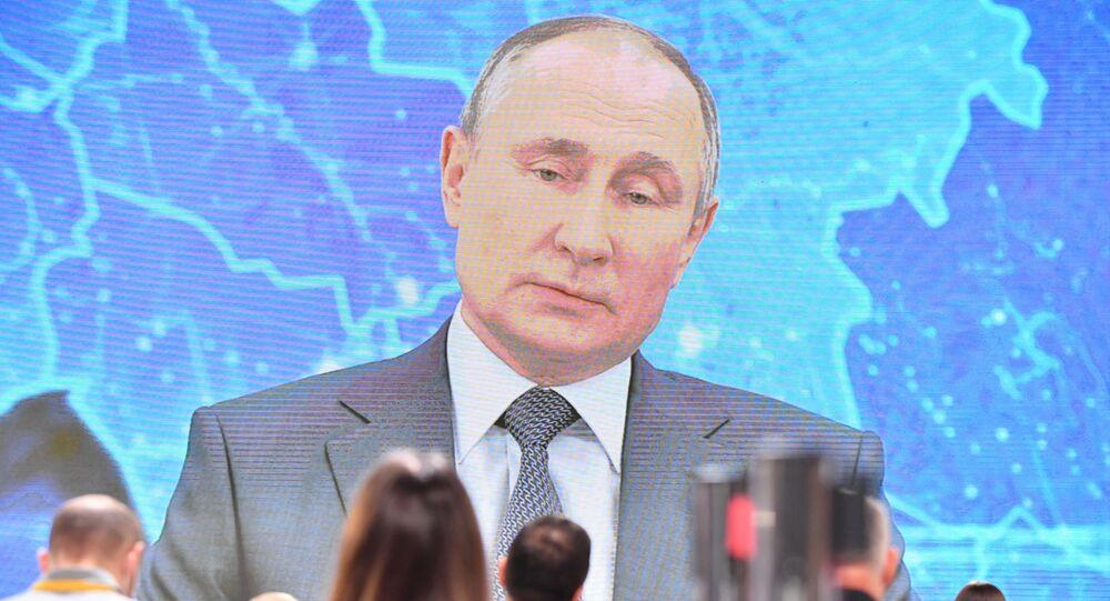 Conférence de presse de Vladimir Poutine
