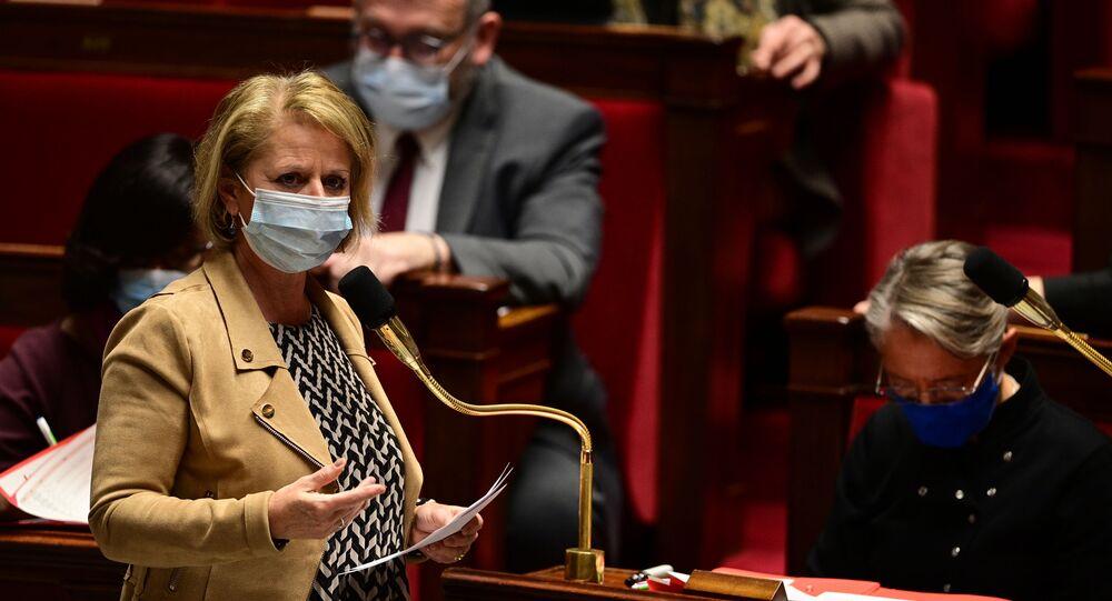 Brigitte Bourguignon à l'Assemblée nationale