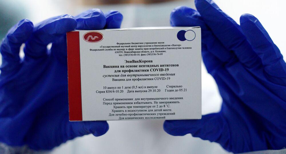 Vaccin russe contre le Covid-19 EpiVacCorona développé par le Centre national Vector