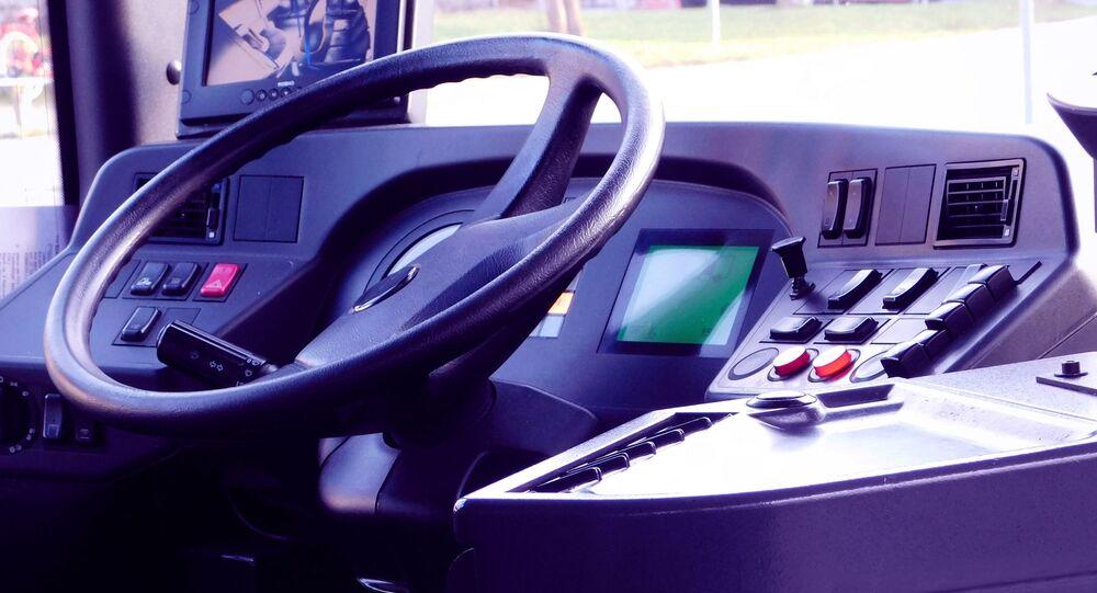 Cabine d'un bus