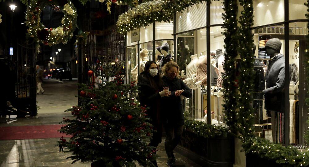 Londres à l'approche de Noël
