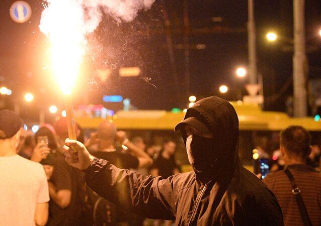 Manifestations à Minsk
