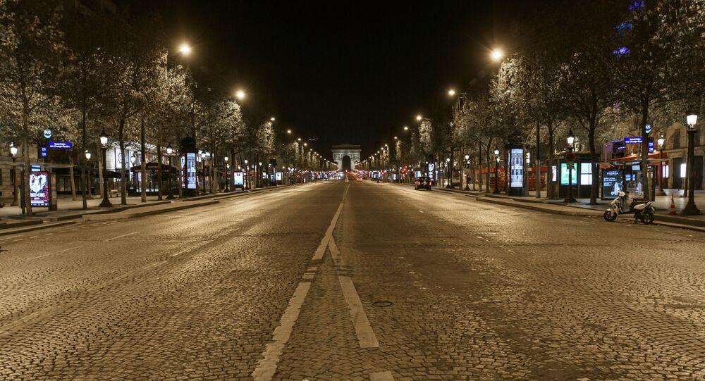 Couvre-feu à Paris