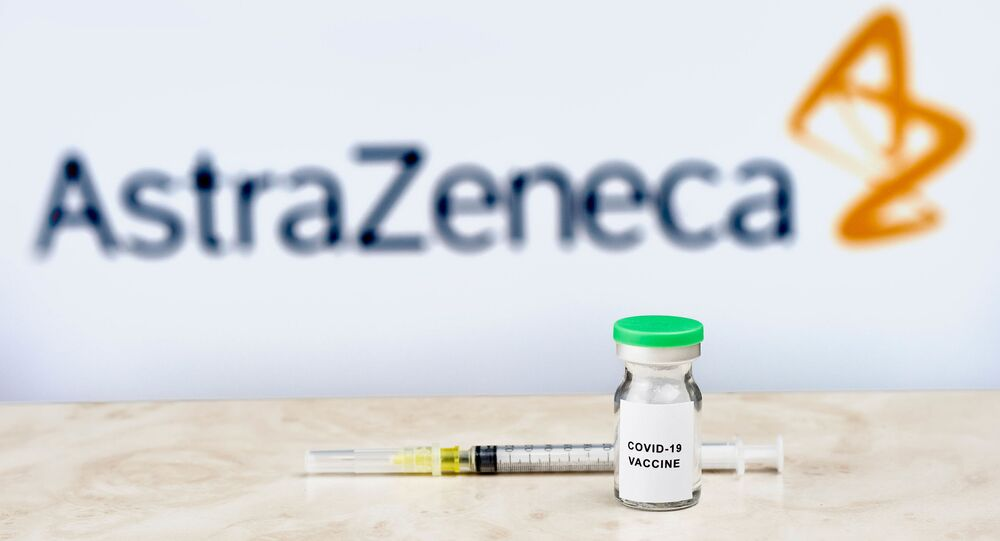 Un vaccin anti-Covid d'AstraZeneca (archives)