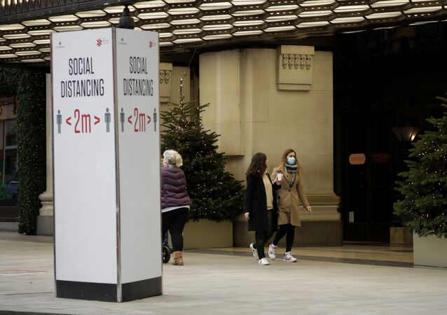Une rue de Londres (novembre 2020)