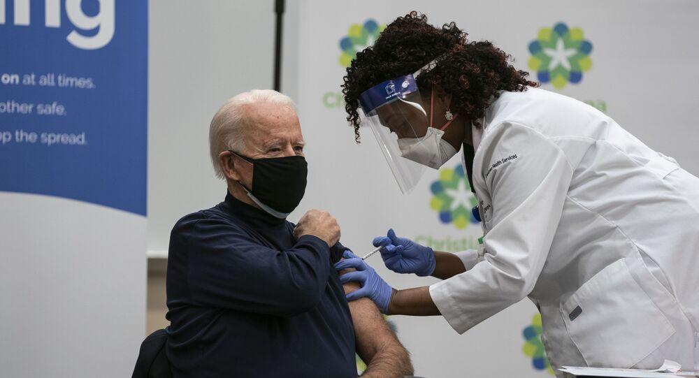 Joe Biden s'est fait vacciner