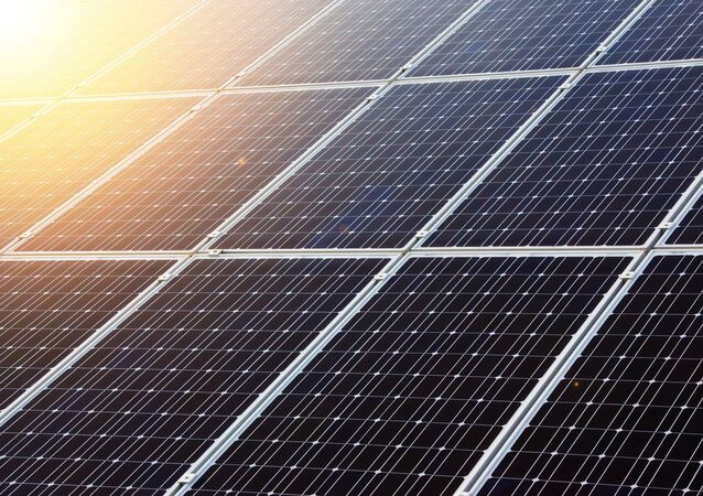 Panneau solaire (image d'illustration)