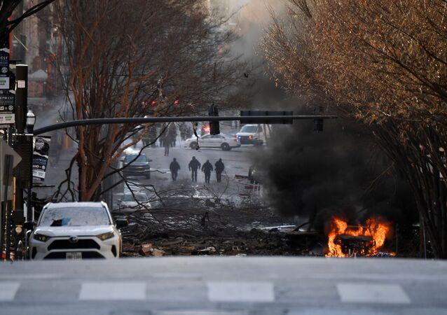 Explosion à Nashville, le 25 décembre 2020