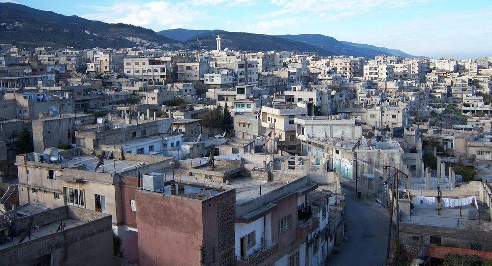 Ville de Masyaf, Hama, Syrie