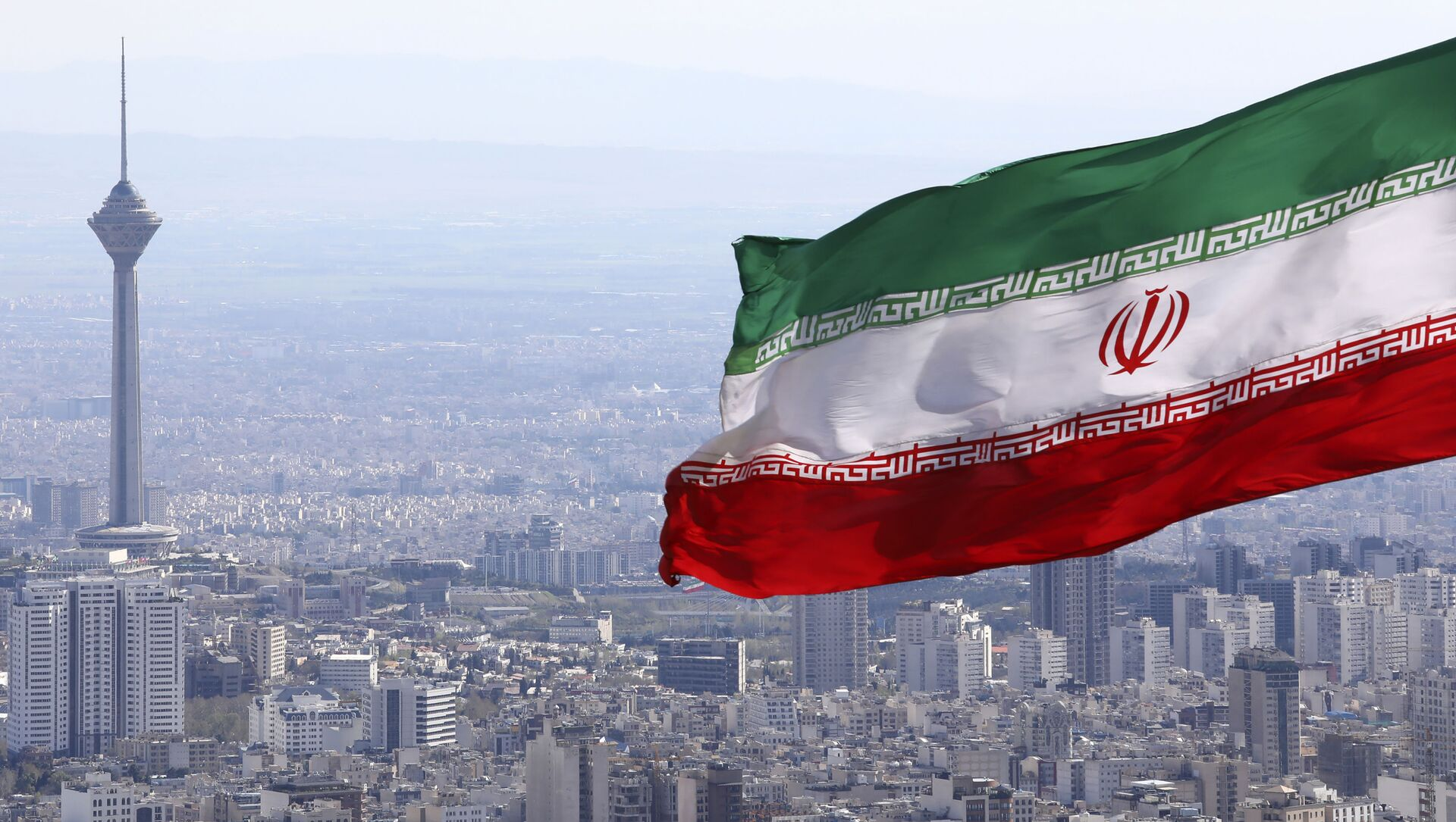 Drapeau iranien, Téhéran - Sputnik France, 1920, 01.08.2021