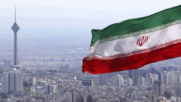 Drapeau iranien, Téhéran - Sputnik France