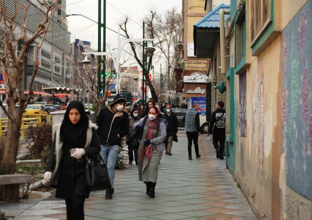 L'Iran lors de l'épidémie