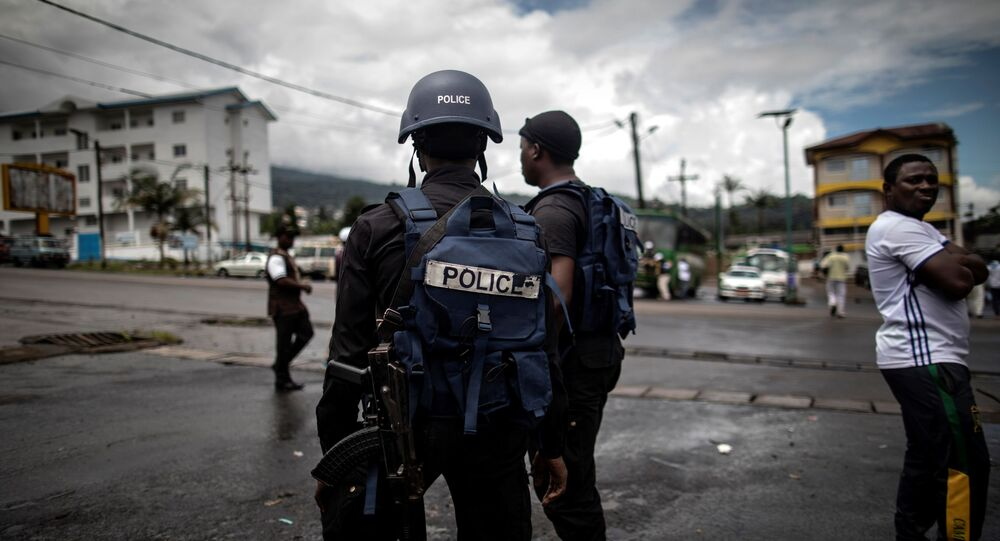 Les forces de police camerounaises