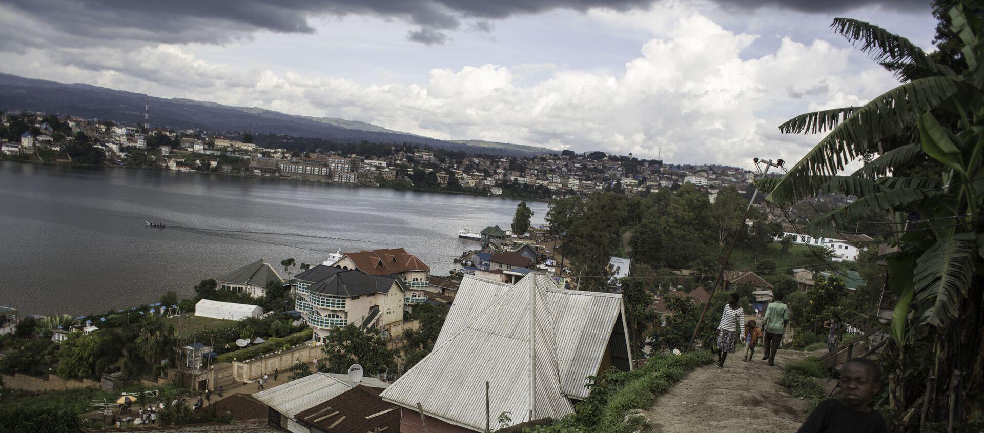 Les bords du lac Kuvu, en RDC. - Sputnik France, 1920, 29.12.2020