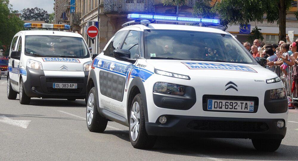 Voitures de la police municipale de Belfort
