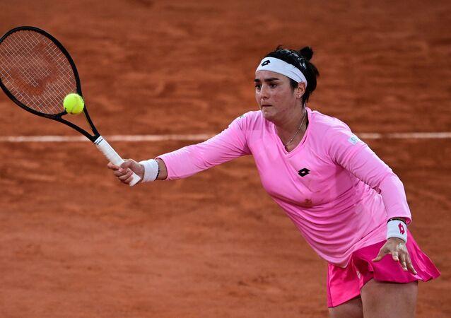 La joueuse de tennis tunisienne Ons Jabeur, Roland Garros 2020