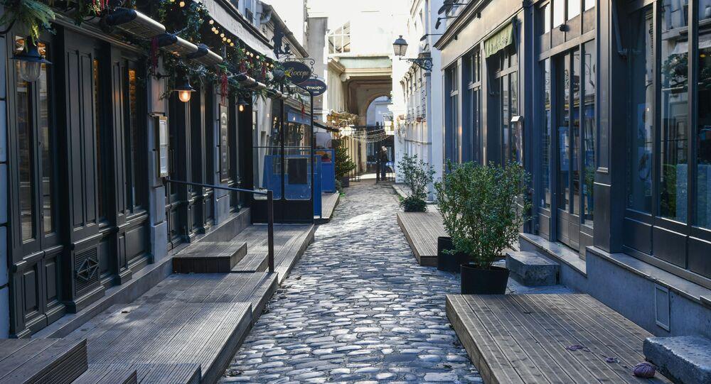 Mesures restrictives à Paris (photo d'archives)