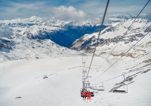Une station de ski (image d'illustration)