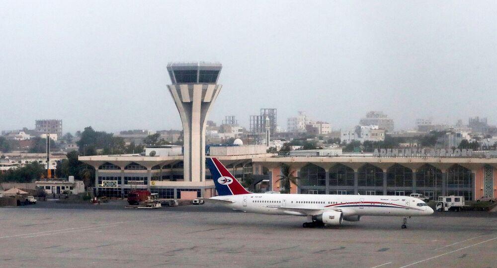 Aéroport Aden au Yémen