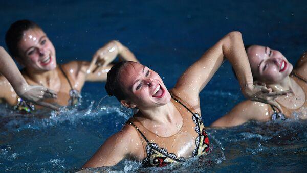 L'équipe nationale russe de natation synchronisée, photo d'archives - Sputnik France