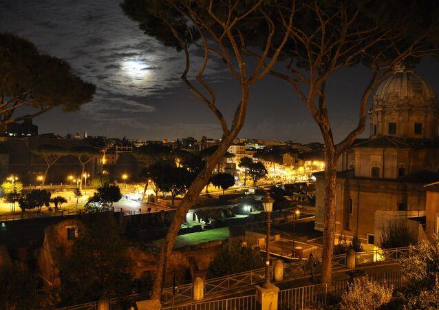 Rome pendant la nuit