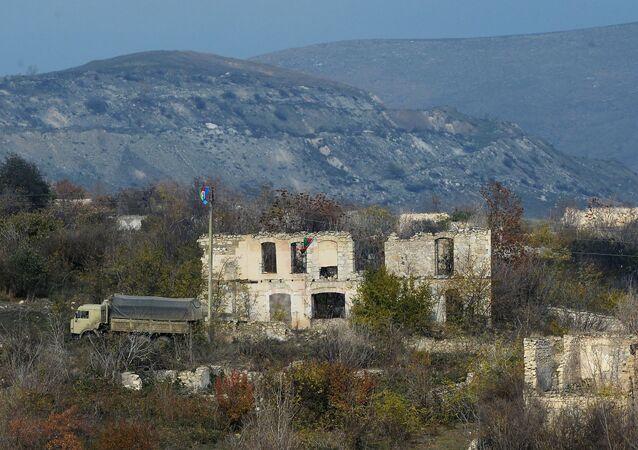 La ville de Fizouli, dans le Haut-Karabakh
