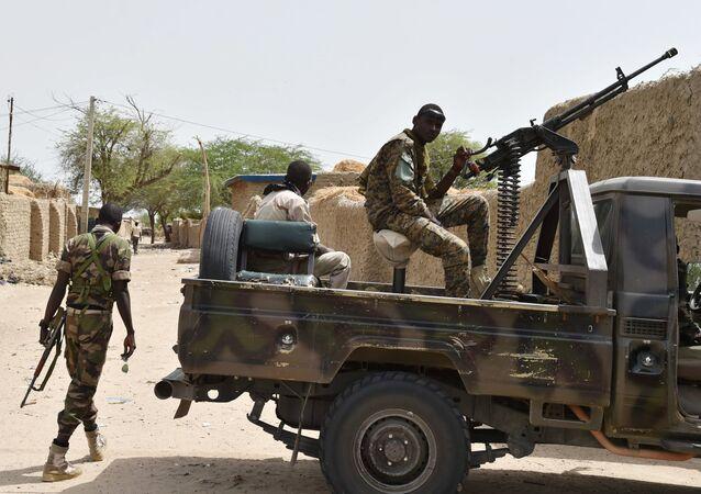 Des soldats nigériens