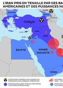L'Iran pris en tenaille par des bases américaines et des puissances nucléaires