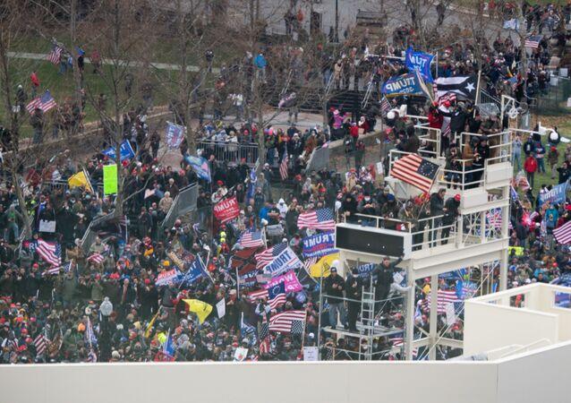 Protestations de partisans de Donald Trump à Washington