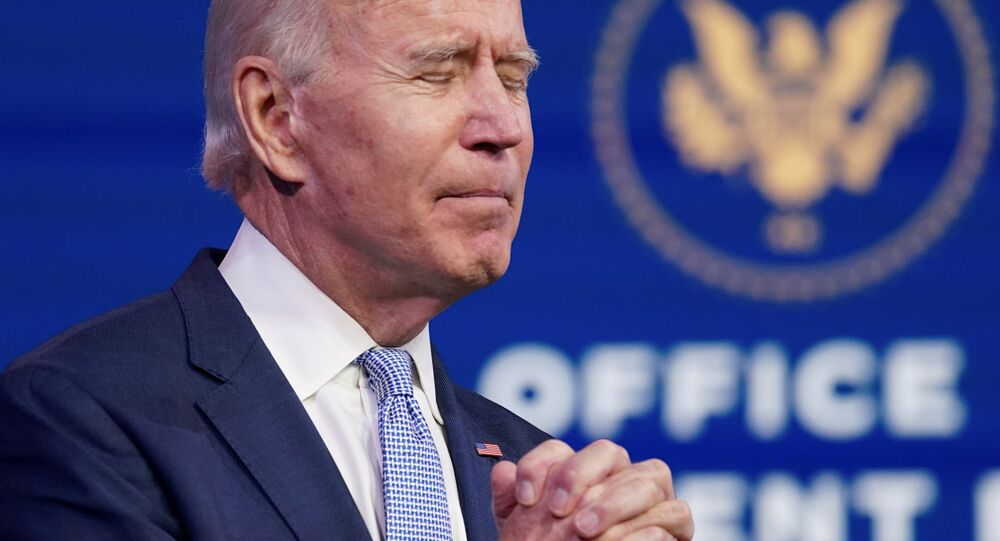Joe Biden, le 6 janvier 2021