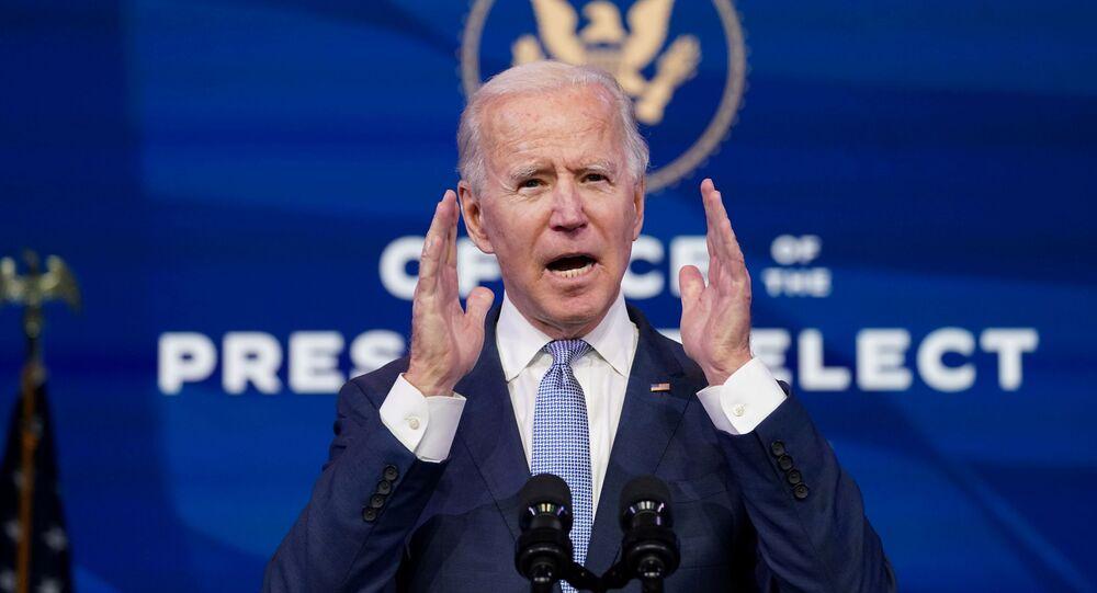 Joe Biden a appelé le Président sortant Donald Trump à exiger de toute urgence la fin du siège du Capitole à Washington, le 6 janvier 2021