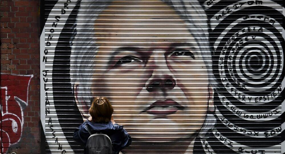 Portrait de Julian Assange